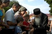 Приезд старца Илия в Беслан, 2009
