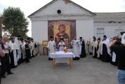 Возведение и освящение креста на месте будущего храма_7