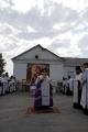 Возведение и освящение креста на месте будущего храма_4