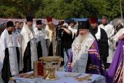Возведение и освящение креста на месте будущего храма_6