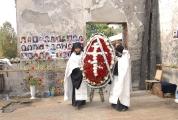 Возведение и освящение креста на месте будущего храма_3