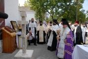 Возведение и освящение креста на месте будущего храма_10