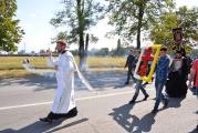 Крестный ход к мемориальному кладбищу «Город Ангелов» в 12-ю годовщину террористического акта