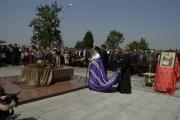 Открытие памятника бойцам спецподразделений, погибшим при освобождении заложников