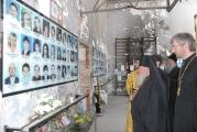 Лития по погибшим в стенах школы № 1 г. Беслан 2013