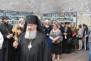 Архиепископ Зосима совершил Божественную литургию в стенах спортзала школы № 1 г. Беслана