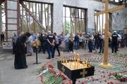Архиепископ Владикавказский и Аланский Леонид принял участие в вахте памяти