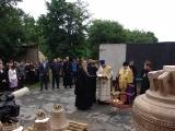 Освящение колоколов для храма в честь новомучеников и исповедников Церкви Русской г. Беслана