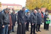 В Беслане освятили купол и крест для колокольни храма в честь новомучеников и исповедников Церкви Русской